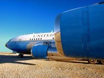 1 flygvapen 707 Fotografering för Bildbyråer