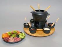 1 fondue στοκ φωτογραφία