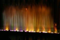 1 fontanny światło Fotografia Stock