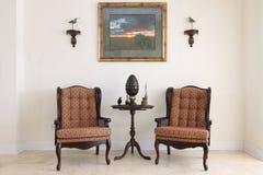 (1) formalny izbowy obsiadanie Zdjęcie Stock