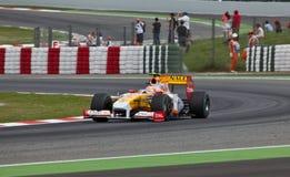 (1) formuła Renault zespala się Zdjęcie Royalty Free