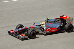 (1) formuły Hamilton Lewis malezyjczyka rasa Obraz Stock