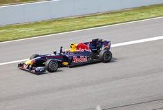 (1) formuły setkarza rbr Renault Zdjęcie Royalty Free