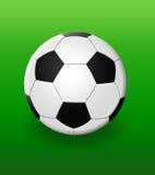 1 fotboll vektor illustrationer