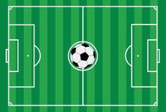 1 fotboll Royaltyfria Bilder
