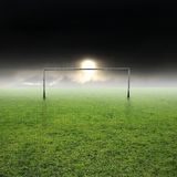 1 fotboll Royaltyfri Bild