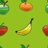 1 fruktupprepning royaltyfri illustrationer