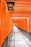 1 fushimi inari taisha 免版税库存照片