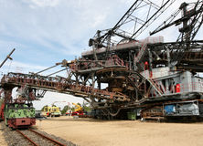 1 górnictwa ekskawatoru otwarte fotografia royalty free