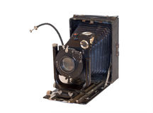 1 gammala kamera Royaltyfri Bild