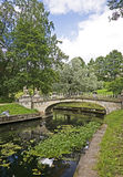 1 gammala park Royaltyfri Bild