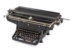 1 gammala skrivmaskin Arkivfoto