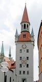 1 gammala torn för klocka Arkivbilder