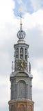 1 gammala torn för klocka Arkivfoto