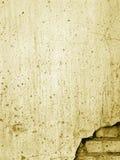 1 gammala vägg för tegelsten Royaltyfria Bilder