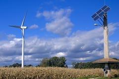 1 generaton wind 库存图片