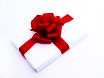 1 generiska gåvawhite för bakgrund Royaltyfria Bilder