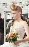 1 gifta sig för konkurrenshairdresses Arkivbilder