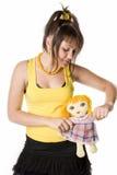 1 gir куклы Стоковое Фото