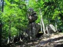 1 gjorde any stenar för en pyramid Arkivbild