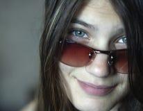 1 glasögonsun Arkivbilder