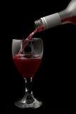 1 glass wine Royaltyfria Foton