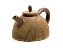 (1) glinianego garnka herbata Fotografia Royalty Free
