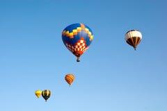 (1) gorący lotniczy balony Obrazy Royalty Free