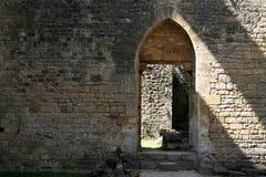 1 gotiska dörr Royaltyfri Foto