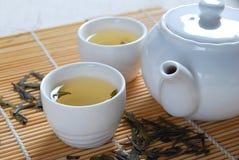 1 gröna tea Arkivbilder