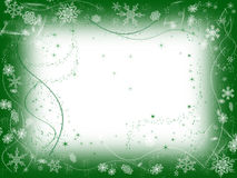 1 gröna vinter Royaltyfria Foton