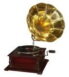 1 grammofon Arkivfoto
