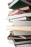 1 greater pile of books close up Royalty Free Stock Photo