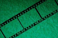 1 green för 35mm bakgrundschroma Arkivfoton