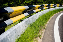 1 guardrail Fotografering för Bildbyråer