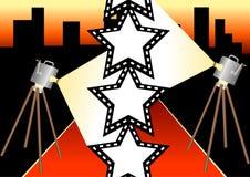 1 gwiazda filmowa Obrazy Royalty Free