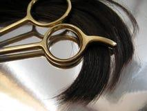 1 hårsalong Arkivfoto
