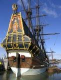 1 högväxt holländska ship Arkivbild