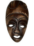1 haiti maskering Royaltyfri Fotografi