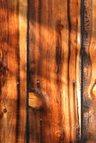 1 and a half planks. Old exterior siding stock photography