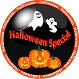 1 экстренныйый выпуск halloween кнопки Стоковые Изображения