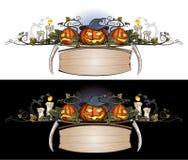 1 halloween prydnad Royaltyfria Bilder