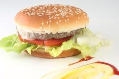 1 hamburger Photographie stock