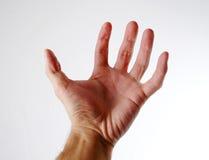 1 hand arkivbild