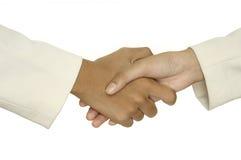 1 handskakning Royaltyfria Bilder