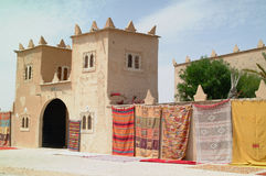 1 handwoven moroccan för mattor Fotografering för Bildbyråer
