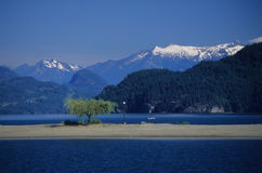 1 harrison lake royaltyfri bild