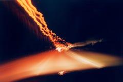 1 hastighet Arkivfoto