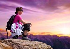 1 hiking Стоковое Изображение