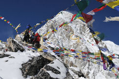 1 himalaya som trekking Fotografering för Bildbyråer